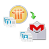 Convert Notes Address Book into Gmail