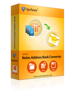 Notes Address Book Converter Box